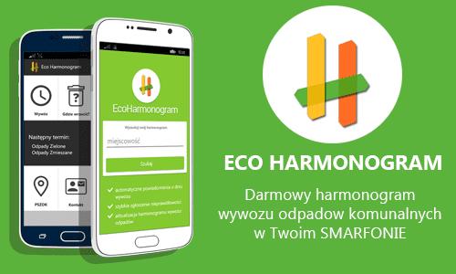 EcoHarmonogram – darmowy harmonogram wywozu odpadów