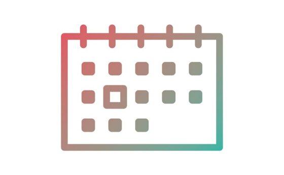 Harmonogram w aplikacji