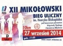 XII Mikołowski Bieg Uliczny im. Henryka Biskupiaka