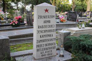 Pomnik i wojenny grób zbiorowy jeńców radzieckich i żołnierzy Armii Czerwonej