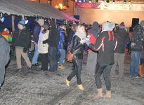 Nowy rok na mikołowskim rynku