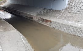 Remont przepustu ramowego na Potoku Jamna w ciągu ulicy Musioław Mikołowi