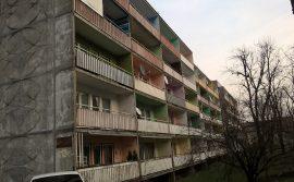 balkony przed remontem