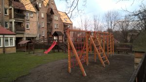 Modernizacja placu zabaw w P-8 przy Przedszkolu nr 8 w Mikołowie ul. Waryńskiego 28 A