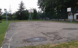 boisko przed rozbiórką