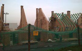 budynek w trakcie budowy