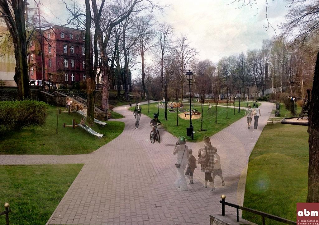 """Dziecięcy Park Centrum """"Radosne Planty"""" Małe Planty – budowa placu zabaw dla małych dzieci na Małych Plantach"""