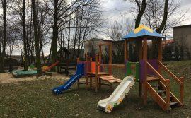 Doposażenie placu zabaw przy przedszkolu nr 11 w Mikołowie, ul. M.Kownackiej 1