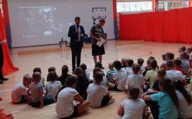 Budowa siłowni zewnętrznej wraz z placem zabaw na terenie Szkoły Podstawowej nr 5 + kurs koszykówki