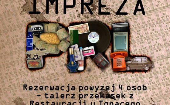Impreza PRL – DJ Zorka