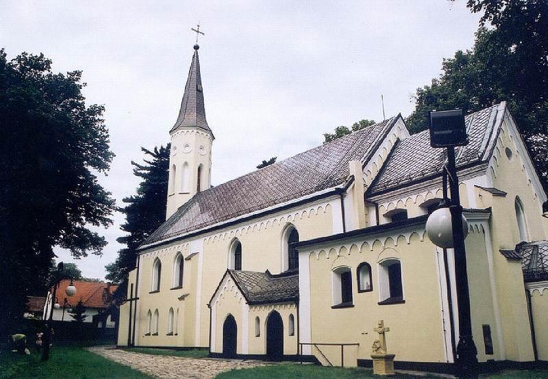 Kościół pw. Św. Wawrzyńca w Mokrem