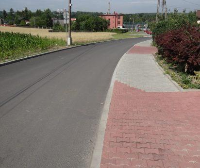Przebudowa układu komunikacyjnego w dzielnicy Kamionka w Mikołowie