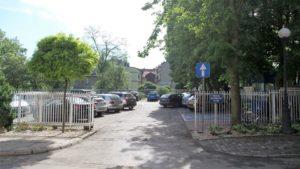 Parking przy ulicy Szafranka od poniedziałku 14.05 na czas robót będzie nieczynny