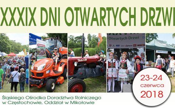 Śląski Ośrodkek Doradztwa Rolniczego, Oddział w Mikołowie – XXXIX Dni Otwartych Drzwi