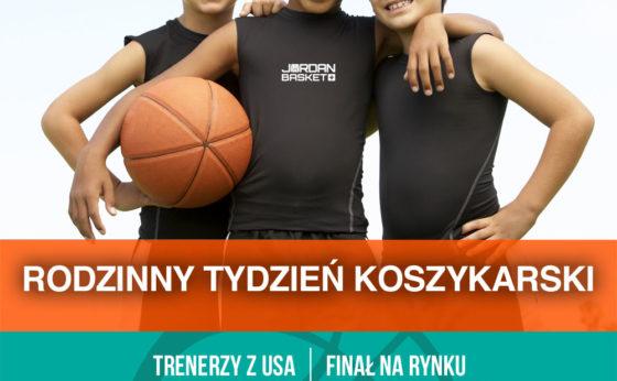 JORDAN BASKET + Koszykówka dla dzieci 7-12 lat z trenerami z USA