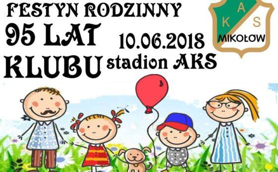 Urodzinowy Festyn Rodzinny AKS Mikołów – 95 lat klubu!