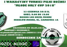 Turniej Młode Orły CUP 2018