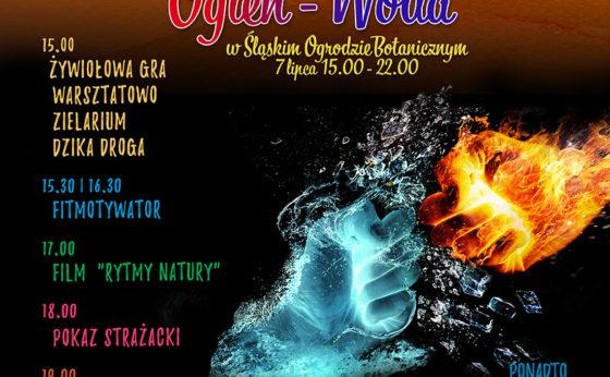 Dzień Żywiołów: ogień-woda