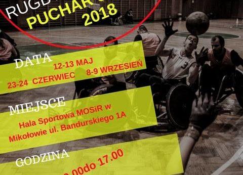 Turniej rugby na wózkach