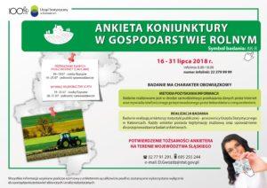 Badanie ankietowe Urzędu Statystycznego w Katowicach