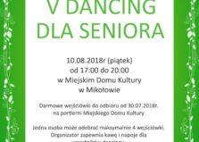 V Dancing dla Seniora