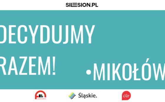 """Spotkanie konsultacyjne """"Decydujmy razem! Budżet Obywatelski Województwa Śląskiego"""" w Mikołowie"""