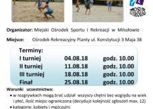 XI Grand Prix Mikołowa w siatkówce plażowej