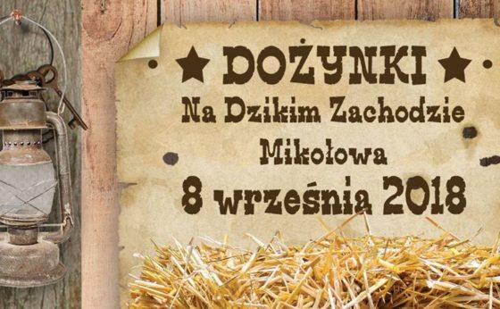 Dożynki Sołeckie na Dzikim Zachodzie Mikołowa w Mokre City
