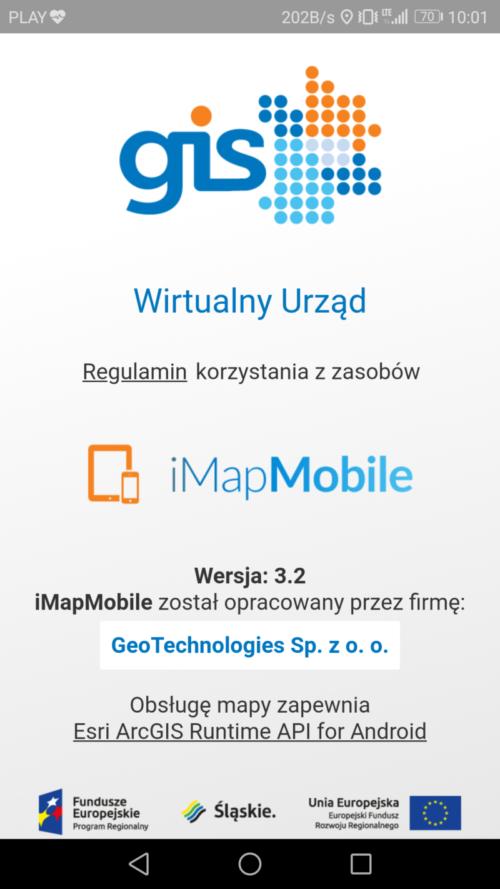 Informacje o aplikacji i projekcie