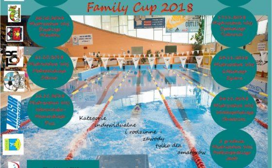 """XII Amatorskie Mistrzostwa Polski w Pływaniu """"Family Cup"""" 2018"""
