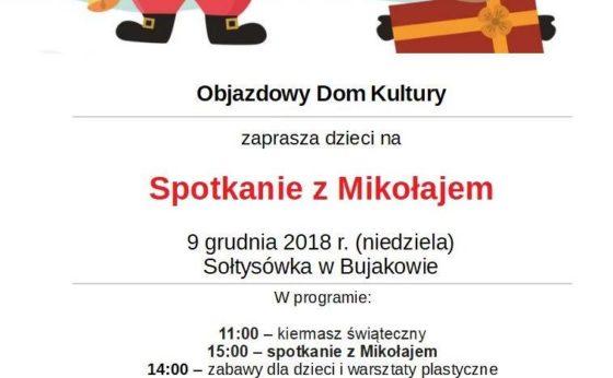 Objazdowy Dom Kultury – Mikołaj w bujakowie