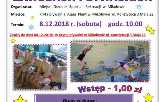 XI Mikołajkowe Zawody Pływackie