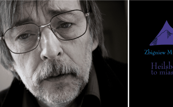 Spotkanie autorskie Zbigniewa Mikołejki związane z promocją najnowszej książki poetyckiej Heilsberg, to miasto