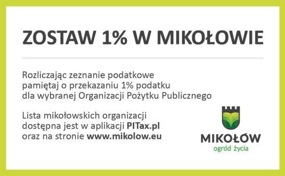 Zostaw 1% w Mikołowie