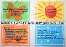 Dzień otwarty w Zespole Szkół nr 2 Specjalnych im. Marii Grzegorzewskiej w Mikołowie