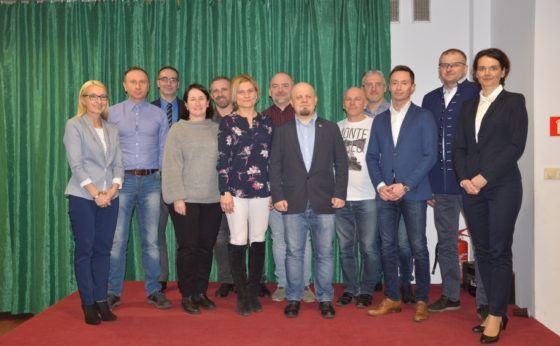 Wybory sołeckie w Mokrem