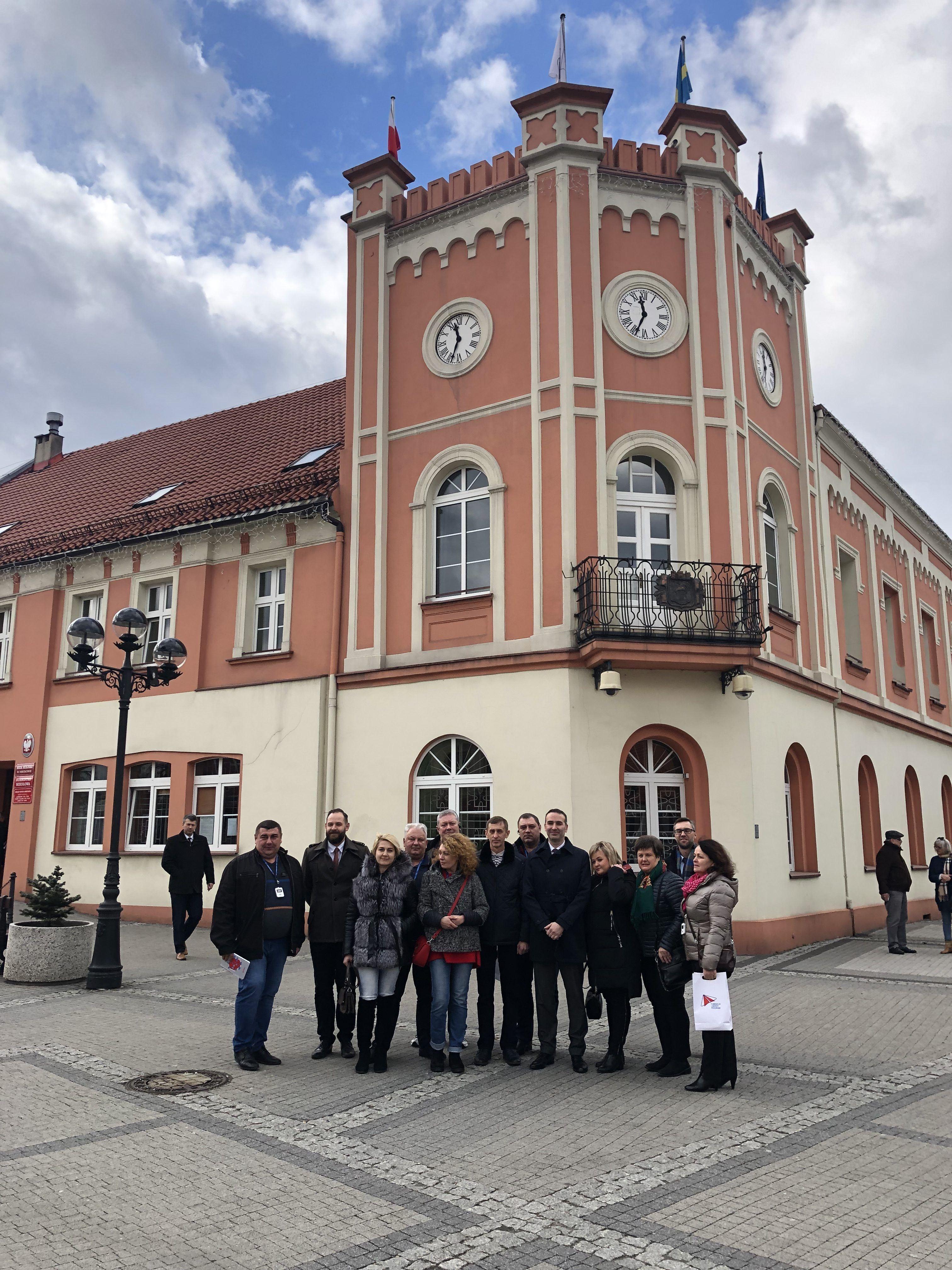 Delegacja ukraińska w Mikołowie