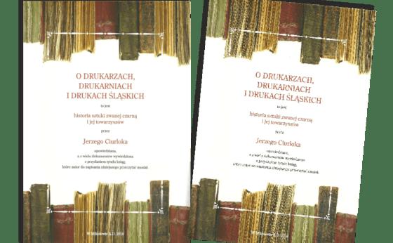 """Spotkanie z JERZYM CIURLOKIEM, związane z promocją jego książki """"O drukarzach, drukarniach i drukach śląskich"""""""