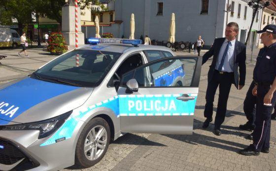 Nowa toyota dla mikołowskiej policji