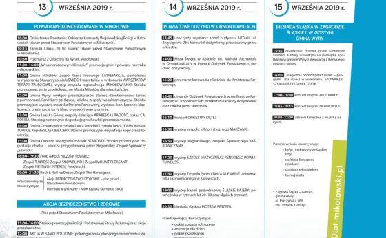 20-lecie Powiatu Mikołowskiego