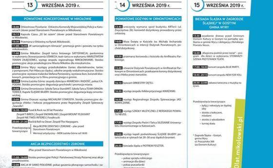 Jubileusz 20-lecia powiatu mikołowskiego