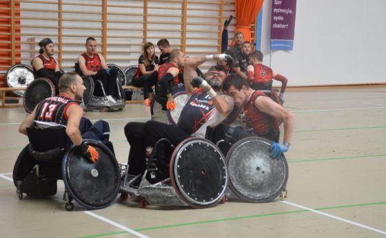 Rugby na wózkach ponownie w Mikołowie