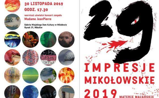 XXIX Impresje Mikołowskie – otwarcie wystawy poplenerowej