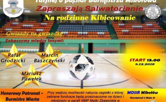 Salwatoriański turniej piłkarski o Puchar Burmistrza Mikołowa