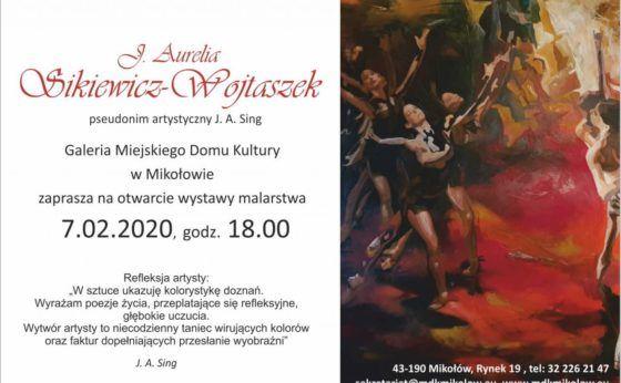 Otwarcie wystawy malarstwa J. Aurelii Sikiewicz – Wojtaszek
