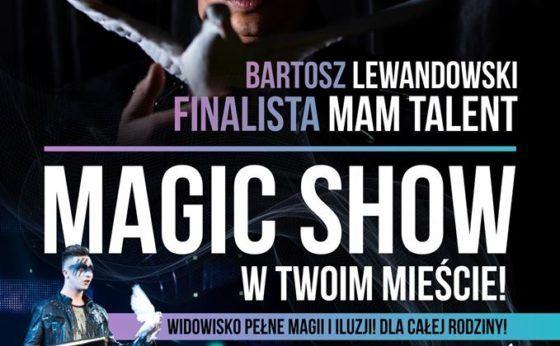 Pokaz magii i iluzji  – Bartosz Lewandowski