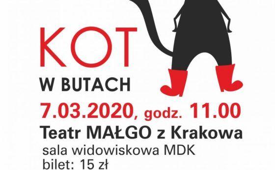 """Poranek Teatralny – """"Kot w butach"""""""