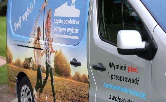 Mobilne Biuro Czystego Powietrza będzie w Mikołowie