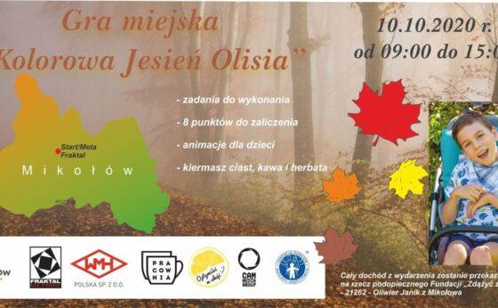 """Gra Miejska """"Kolorowa Jesień Olisia"""""""