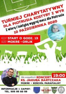 Turniej charytatywny dla Piotrusia Kostyry
